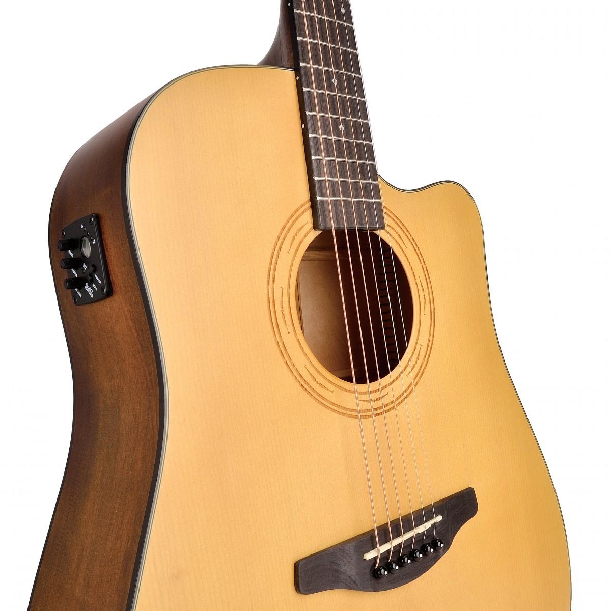 Este posibil? Cea mai rafinata chitara acustica cu Top Solid de Molid - Soundsation Engrave Series - in oferta anului 2021