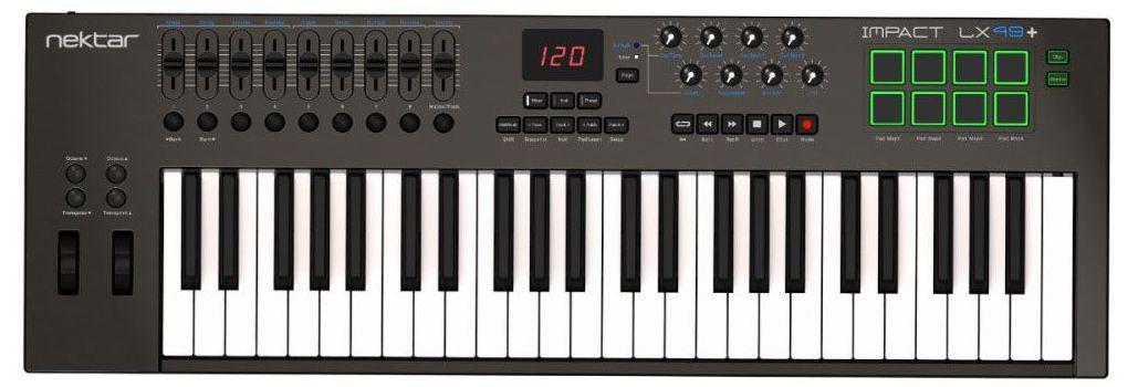 Claviatura MIDI Nektar Impact LX49+ 1