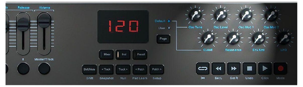 Claviatura MIDI Nektar Impact LX49+ 6
