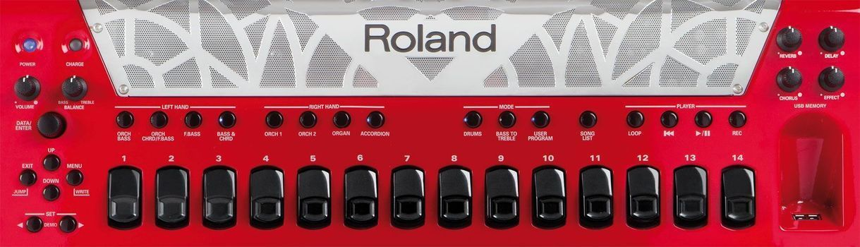 <label itemprop='name'>Roland FR-8X RD - Acordeon Electronic</label>, fig. 7