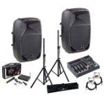 Sisteme de sonorizare, sonorizare scena - Music and More