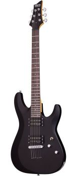 Schecter C-6 Deluxe SBK - Set Chitara Electrica - Music and More