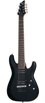 Schecter C-7 Deluxe SBK - Set Chitara Electrica - Music and More