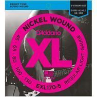 Corzi bass electric D'Addario EXL170-5