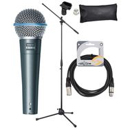 "Set microfon voce Shure BETA 58A ""Pro Set"""