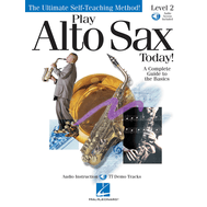 Metoda de saxofon Play Alto Sax Today! - Level 2