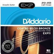 D'Addario EXP11 - Set Corzi Chitara Acustica - Music and More