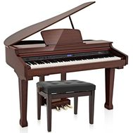 Set pian digital Gear4music GDP-100 Grand Piano PM