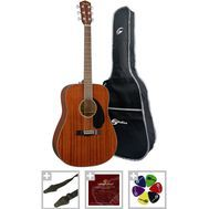 "Set chitara acustica Fender CD-60S All Mahogany ""Pro Set"""
