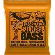 Corzi Chitara Bass Ernie Ball Hybrid Slinky Nickel Wound 2833 45-105
