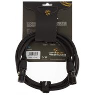 Soundsation Wiremaster WM-PCBXX2 - Cablu Microfon XLR (M) și XLR (F) - 2 metri