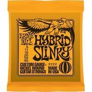 Ernie Ball Hybrid Slinky 2222 - Set Corzi Chitara Electrica - Music and More