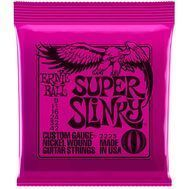Ernie Ball Super Slinky 2223 - Set Corzi Chitara Electrica - Music and More