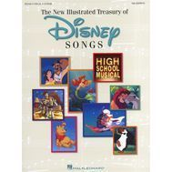 Cantece Disney la pian, voce si chitara-New Illustrated Treasury of Disney Songs