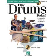 Metoda de tobe (include CD) Play Drums Today! - Level 1