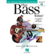 Metoda de bass (include CD) Play Bass Today! - Level 1