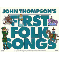 Cantece Pop la pian John Thompson's First Folk Songs