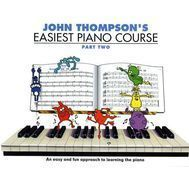Metoda de pian John Thompson's Easiest Piano Course - 2