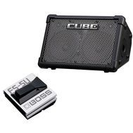 Roland CUBE Street EX - Set Amplificator Chitara si Footswitch