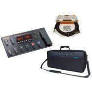 BOSS GT-100 Version 2.0 - Set Procesor Chitara Electrica, Husa si Cablu