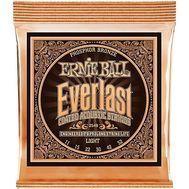 Ernie Ball Everlast Coated Phosphor Bronze Light - Set Corzi chitara acustica Music and More