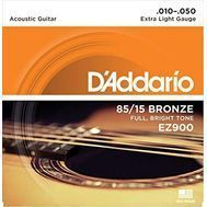 D'Addario EZ900 - Set Corzi Chitara Acustica - Music and More