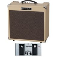 Roland Blues Cube Hot - Set Amplificator Chitara Electrica si Footswitch