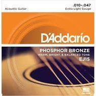 D'Addario EJ15 - Set Corzi Chitara Acustica - Music and More