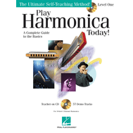 Metoda de muzicuta (include CD) Play Harmonica Today! - Level 1