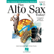 Metoda de saxofon (include CD) Play Alto Sax Today! - Level 1