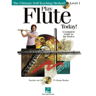 Metoda de flaut (include CD) Play Flute Today! - Level 1