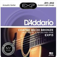 D'Addario EXP13 - Set Corzi Chitara Acustica - Music and More