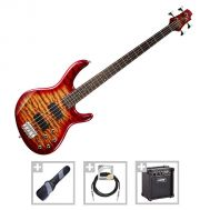Cort Action DLX PLUS-CRS - Set Chitara Bass - Music and More