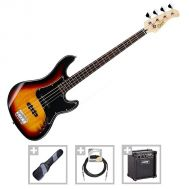 Cort GB34JJ 3TS - Set Chitara Bass - Music and More