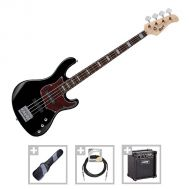 Cort GB34J BK - Set Chitara Bass - Music and More