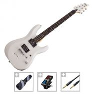Schecter C-6 Deluxe SWHT - Set Chitara Electrica - Music and More