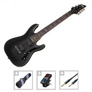 Schecter Omen-7 BLK - Set Chitara Electrica - Music and More