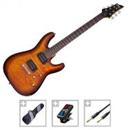 Schecter C-6 Plus VSB - Set Chitara Electrica - Music and More