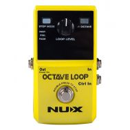 NUX Octave Loop - Pedala Looper/ Octaver - Music and More