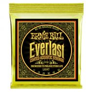 Ernie Ball Everlast Light Coated 80/20 Bronze 2558 - Set Corzi Chitara Acustica - Music and More