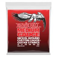 Ernie Ball Medium Gauge Nickel Wound 2204 - Set Corzi Chitara Electrica - Music and More