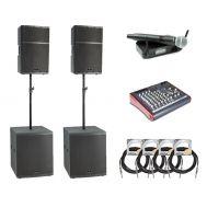 Sistem Profesional de Sonorizare - Tempo Stage Sound 1512HSM (2 x 1200W) - Music and More