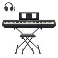 "Yamaha P-45 - Set Pian Digital Portabil ""Stage Pack"""