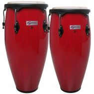 Soundsation SCO10-RD - Set Congas + Stative - Music and More