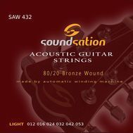 Soundsation SAW432 - Set Corzi Chitara Acustica - Music and More