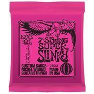 Ernie Ball 7-String Super Slinky 2623 - Set Corzi Chitara Electrica - Music and More