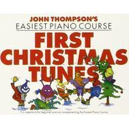 Colectie de partituri - John Thompson's Easiest Piano Course: First Christmas Tunes