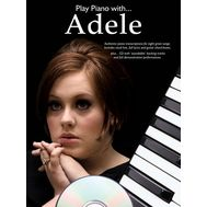 Colectie de partituri Play Piano With... Adele, fig. 1