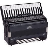 Acordeon 120 basi + Hardcase pentru Transport si Curele - Infinito VOCE IV A41120-BK - Music and More
