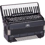 Acordeon 120 basi + Hardcase pentru Transport si Curele - Infinito VOCE V B41120-BK - Music and More